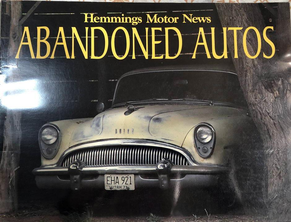Abandoned Autos Hemmings Ford Cadillac Lincoln Chrysler Chevrolet coffee table book