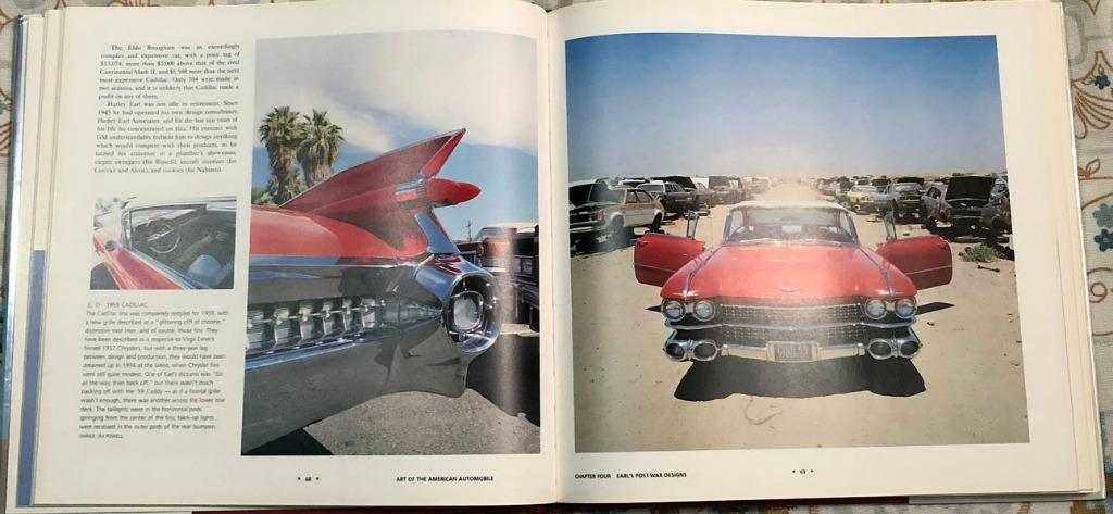 Art of the American Automobile Ford Cadillac Lincoln Chrysler Chevrolet coffee table book