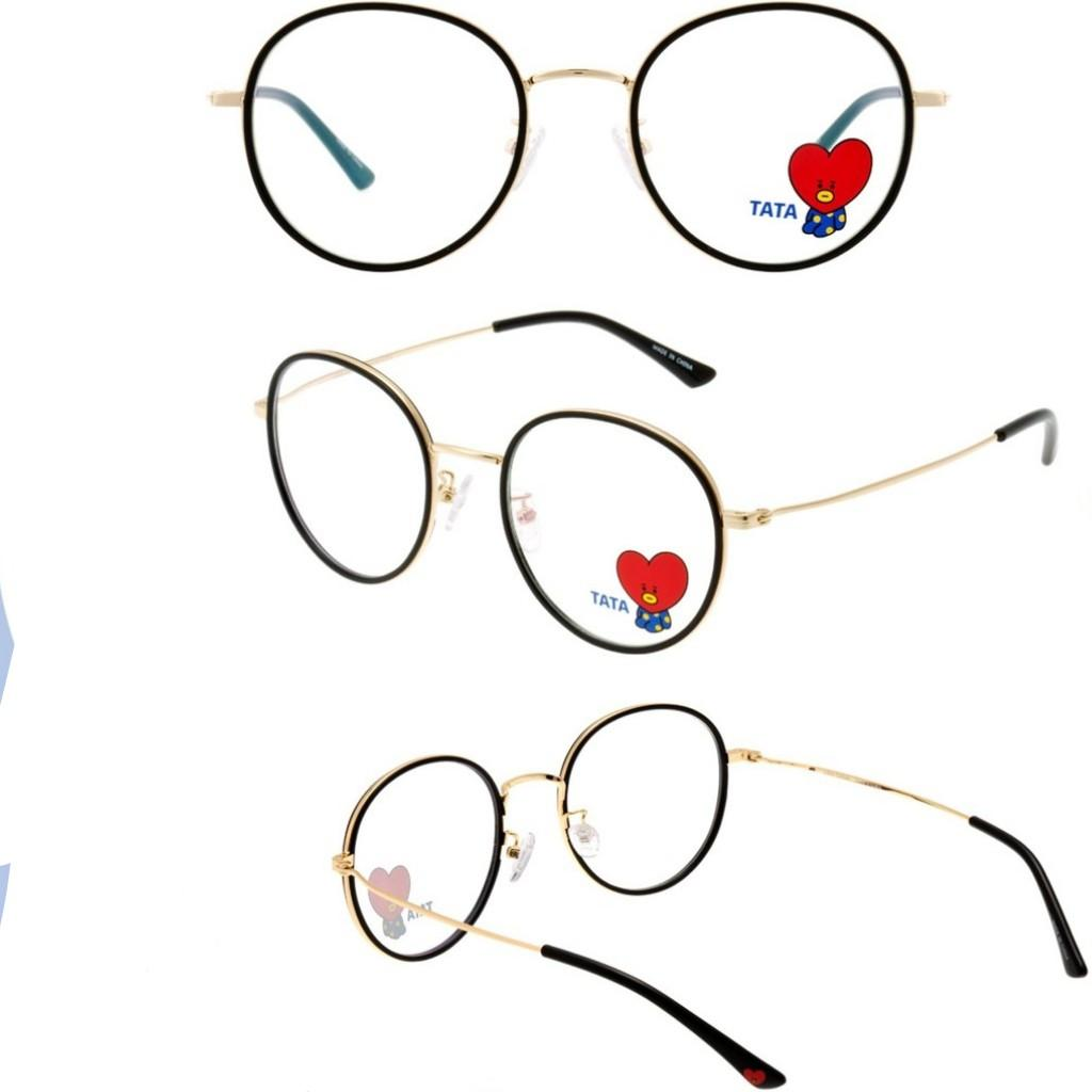 BT21 Official Authentic Product Look Optical Black Soltex glasses
