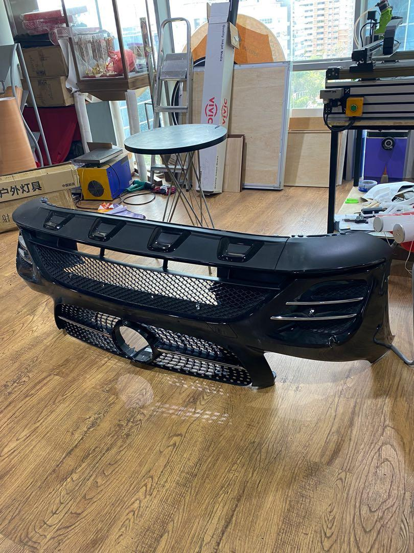 glc 250 mercedes coupe body kit front and back full set