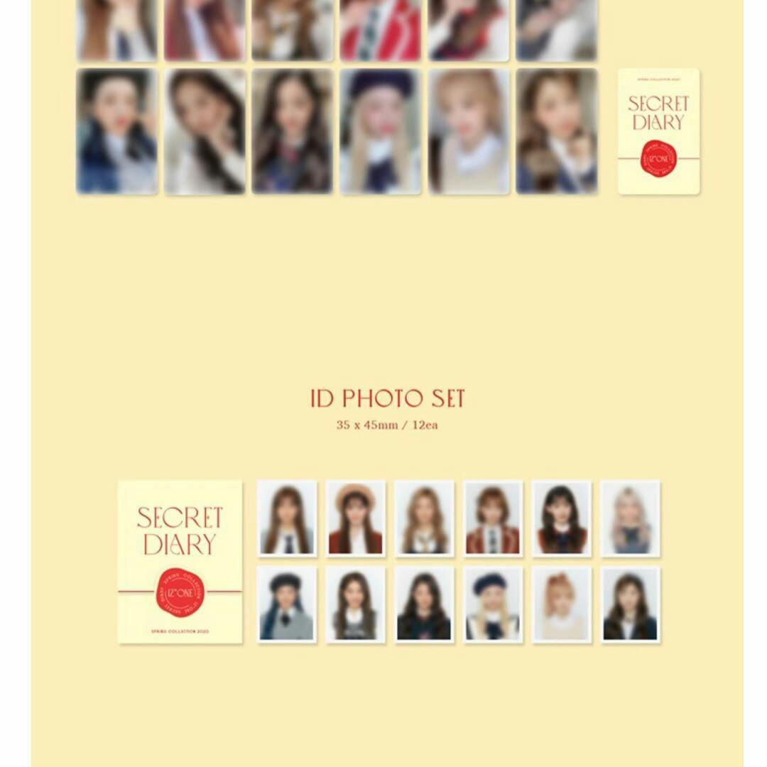 [INCOMING STOCK] IZONE SECRET DIARY: PHOTOBOOK PACKAGE