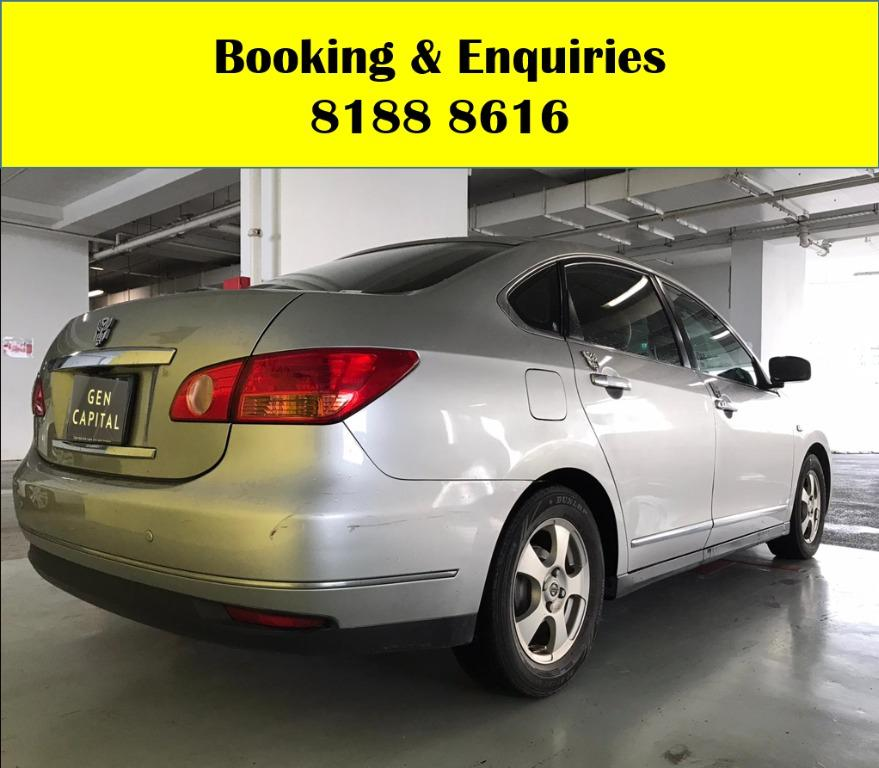 Nissan Sylphy  LOWEST RENTAL IN TOWN! Rent a car from us today & travel with a peace of mind! We have lowered our rental rates with additional Free rental and Petrol vouchers for new signups! Whatsapp 8188 8616 now to reserve a car now!
