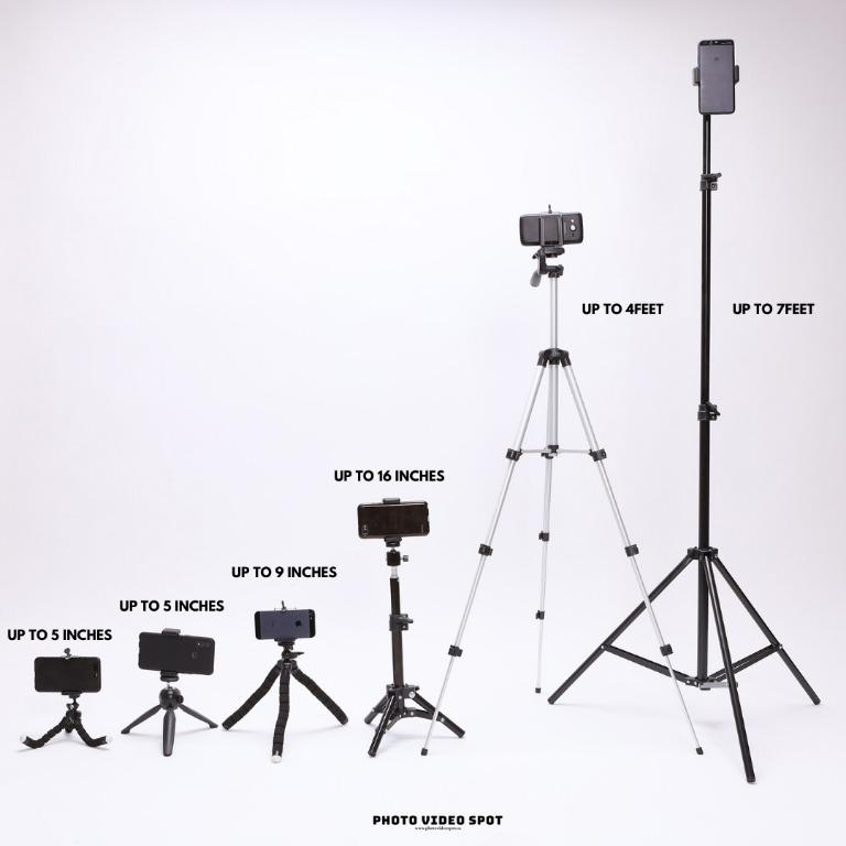 Smartphone/Camera Stand & Tripods (various sizes) BRAND NEW