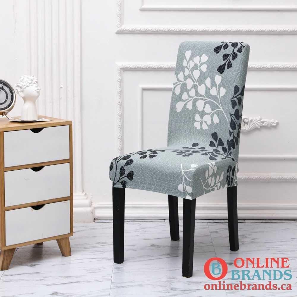Spandex Elastic Printing Chair Cover | Free shipping | Online Brands