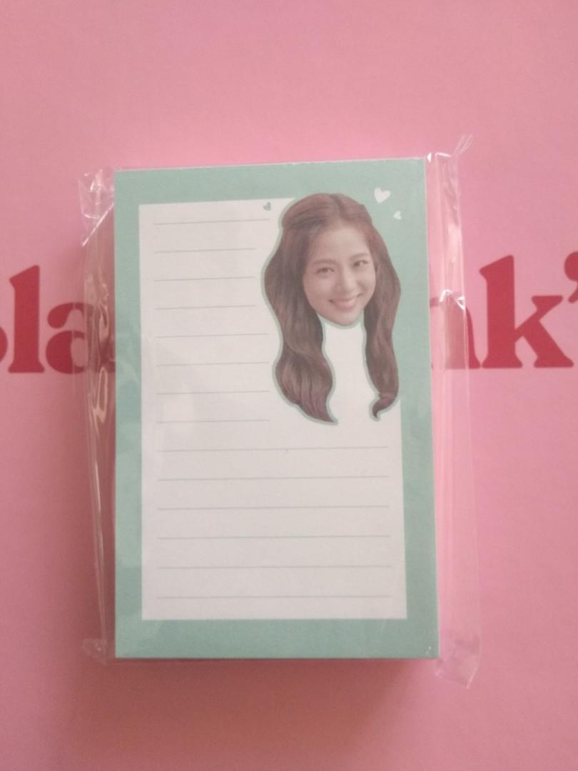 STICKER SET AND MEMO BLACKPINK WELCOMING COLLECTION 2020