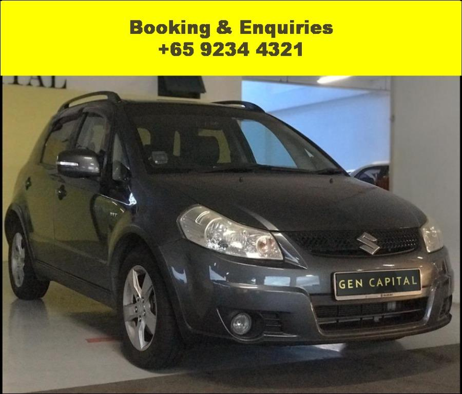 Suzuki SX4 up for rent! Call Megan now and drive it away immediately!