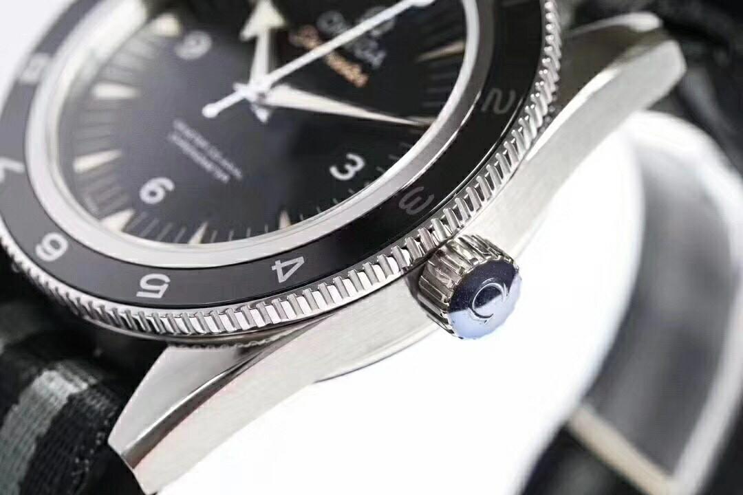 VSF Omega Seamaster 300 Spectre 007 Limited Edition 233.32.41.21.01.001 VS SS Black Dial Swiss 8400