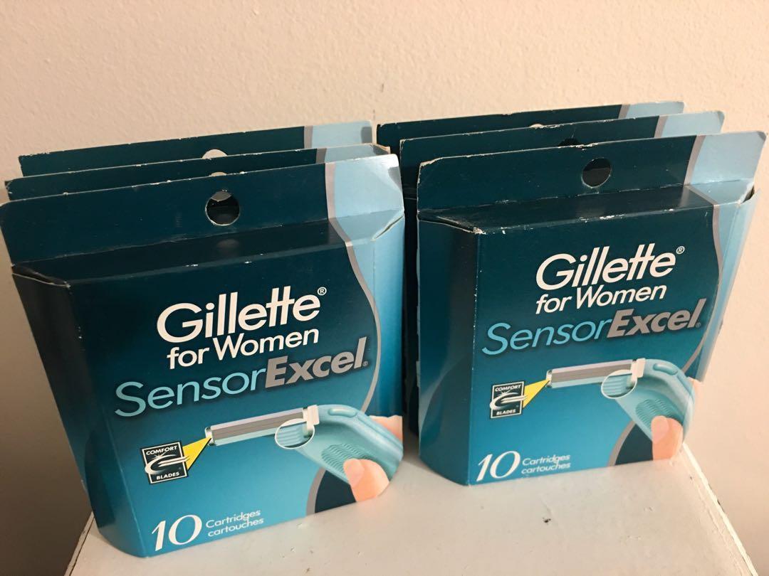 X6 brand new Gillette for women sensor excel cartridges