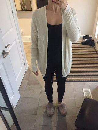 Brandy Melville beige cardigan