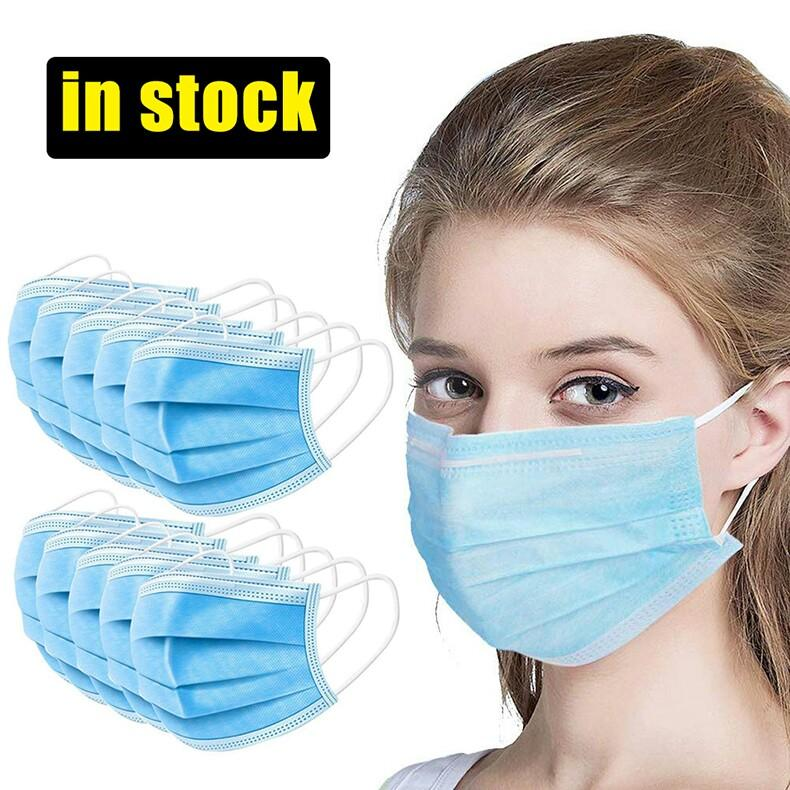 $0.5/Pcs, Disposable Civil Ordinary Protective 3-Ply Masks
