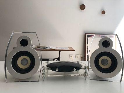 Lars&Ivan analogue amplifier and speaker