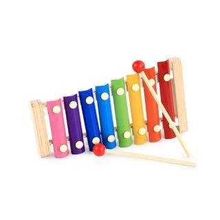 Cute Xylophone Wooden Toy Music Tone Colourful
