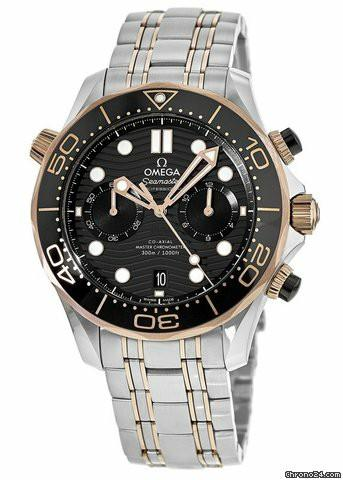 * FREE DELIVERY * Brand New 100% Authentic Omega Seamaster Chronograph Mens Automatic Divers Watch 210.20.44.51.01.001