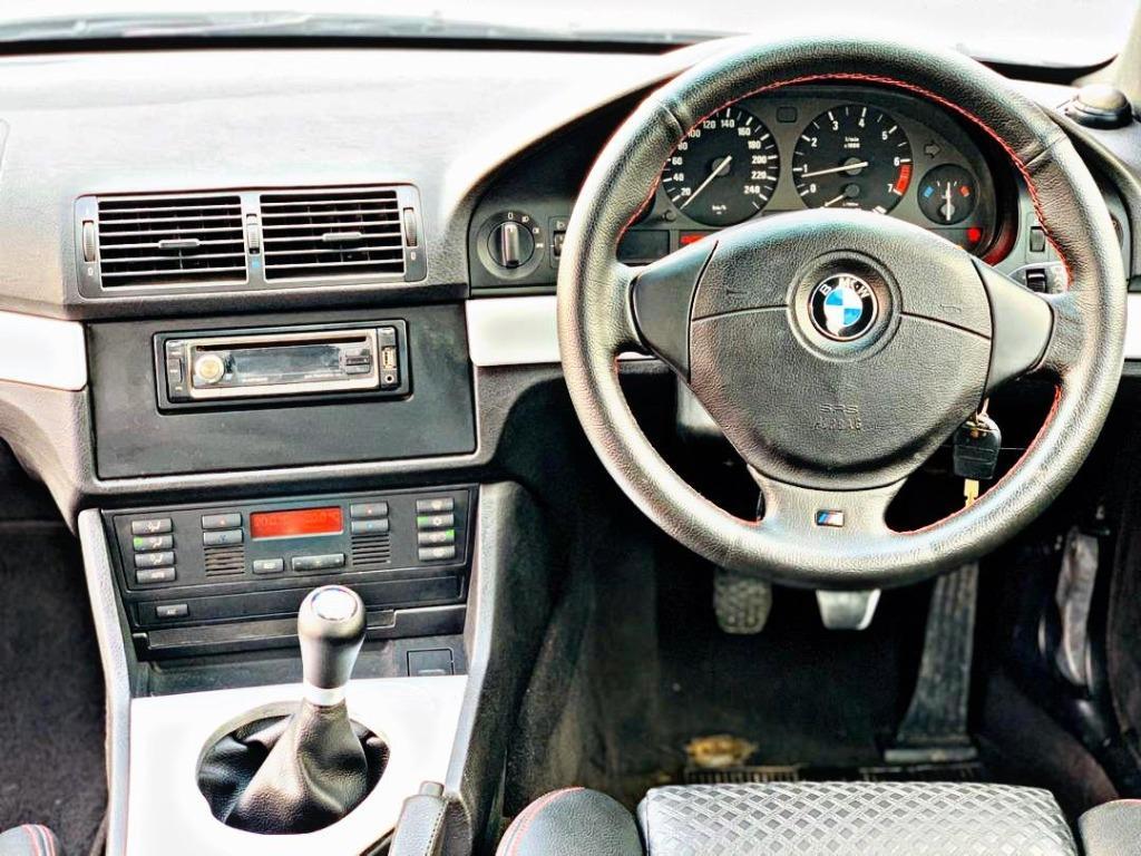 BMW 5 SERIES 3.0 MANUAL MSPORT MODEL E39  YEAR 2000