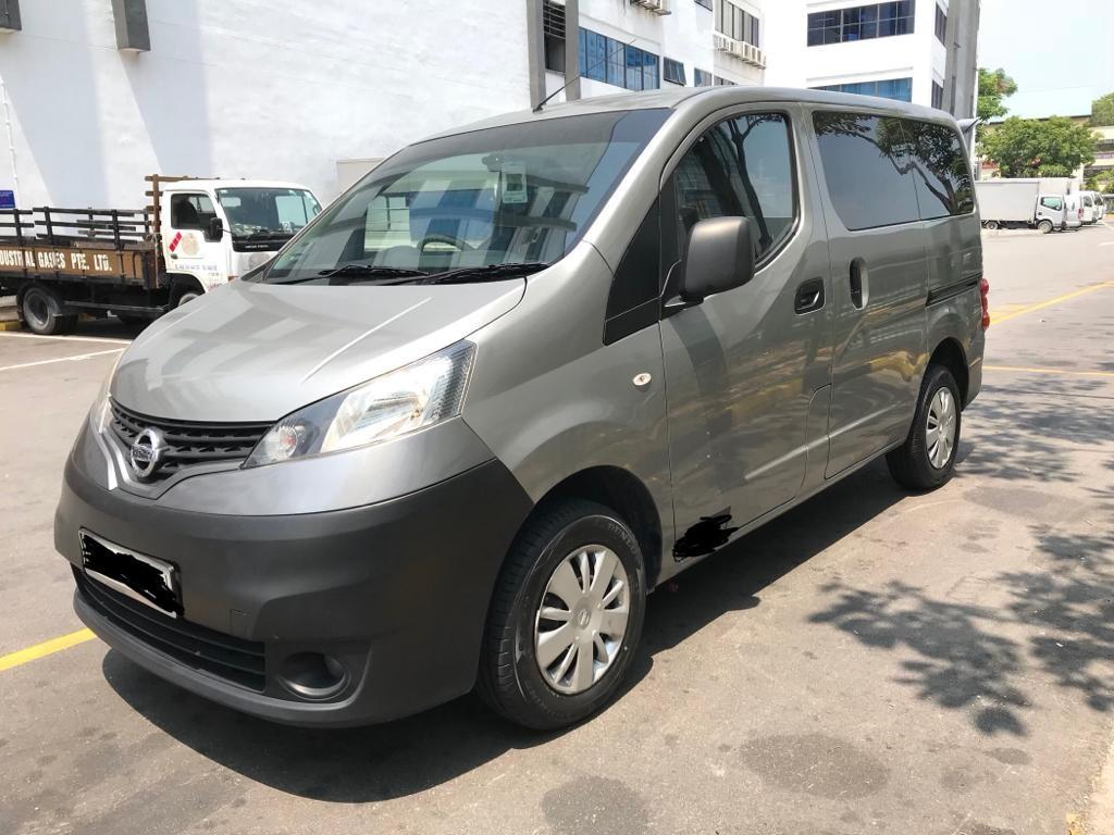 CHEAP & AFFORDABLE NISSAN NV200 1.5M VAN FOR LONG TERM RENTAL!  3 MONTHS CONTRACT $1,150 MONTHLY!!