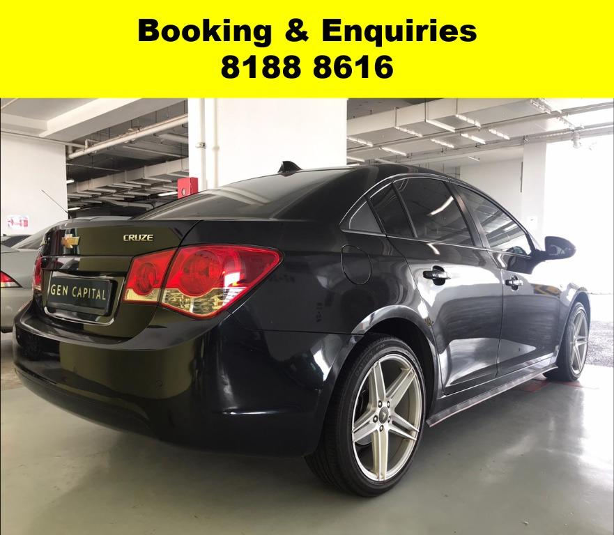 Chevrolet Cruze HAPPY HUMP DAY! APRIL PROMO! No Contract Required just 2 weeks notice upon returning of vehicle, Low Deposit, Own authorised workshop, No hidden cost & Gimmicks