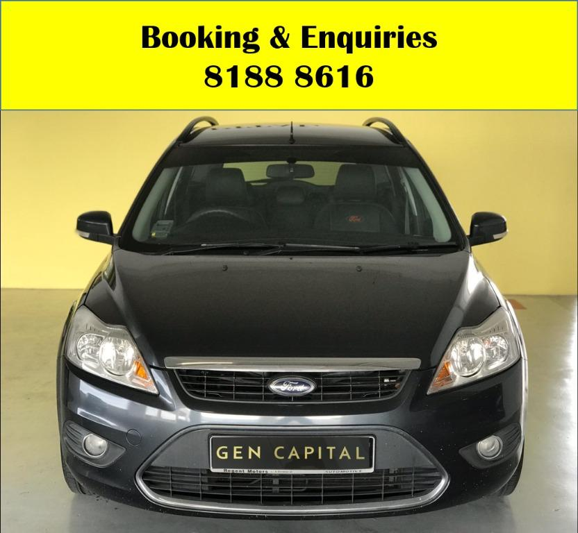 Ford Focus Trend HAPPY HUMP DAY! APRIL PROMO! No Contract Required just 2 weeks notice upon returning of vehicle, Low Deposit, Own authorised workshop, No hidden cost & Gimmicks