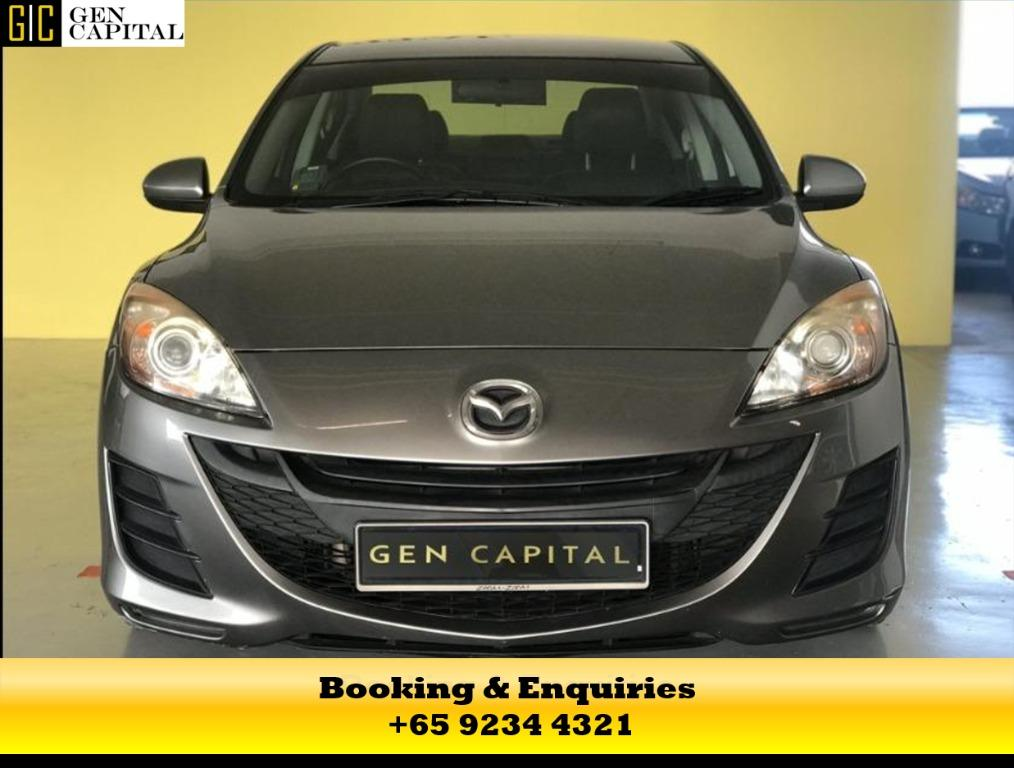 Mazda 3 ready for you! Get your dream Rental Car right now!