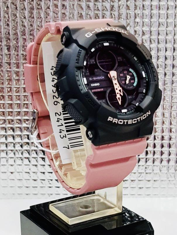 NEW🌟COUPLE💝SET : BABYG + GSHOCK DIVER UNISEX SPORTS WATCH  : 100% ORIGINAL AUTHENTIC CASIO BABY-G-SHOCK : GMA-S140-4A + GMA-S120SR-7A