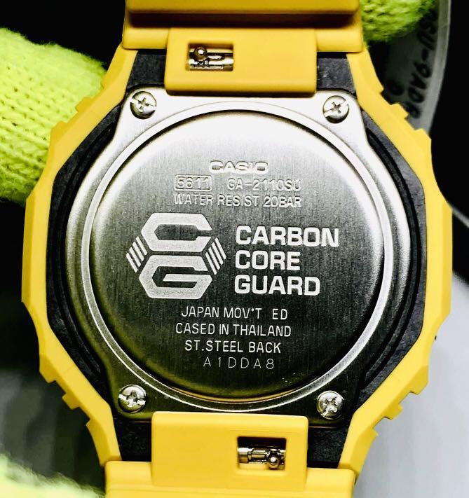 FULLY⛔️RESERVED : GSHOCK UNISEX DIVER SPORTS WATCH : 100% ORIGINAL AUTHENTIC CASIO G-SHOCK : GA-21100SU-9ADR / GA-2110SU-9A / GA2110SU-9A / GA-2100 series