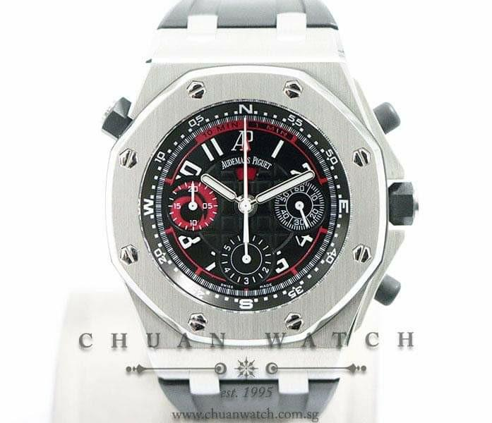 Pre-Owned Audemars Piguet Royal Oak Offshore Alinghi Polaris 42mm 26040ST  (Limited Edition of 1935 Pieces Only)