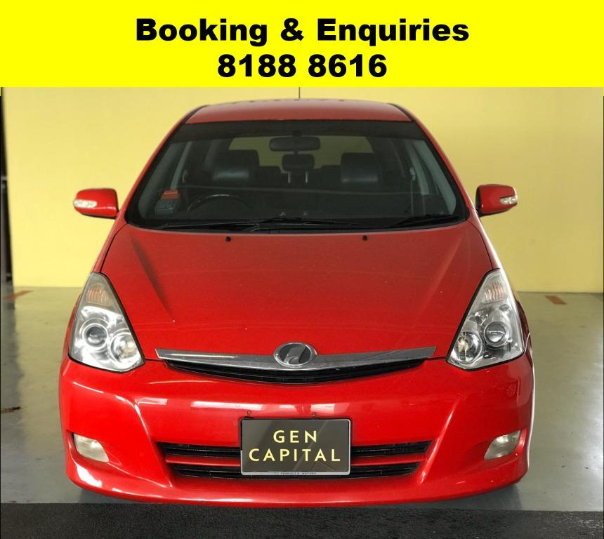 Toyota Wish HAPPY HUMP DAY! APRIL PROMO! No Contract Required just 2 weeks notice upon returning of vehicle, Low Deposit, Own authorised workshop, No hidden cost & Gimmicks