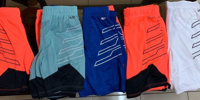 UA籃球運動短褲剩下7件(1090406) S橘1 M橘2藍1水綠1 XL橘1 3XL白1