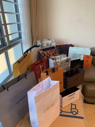 Luxury Brands / Louis Vuitton Paper Bags