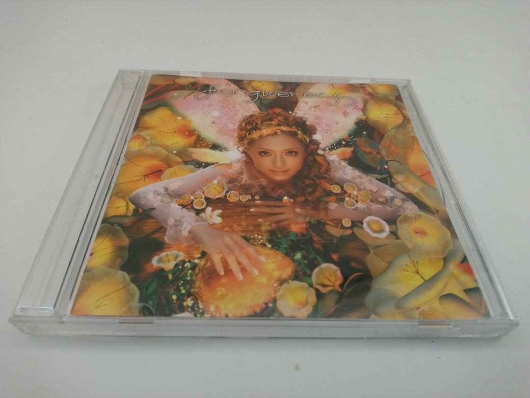 JAPAN SINGER-AYUMI HAMASAKI(滨崎步):FORGIVENESS-CD Single(HK Edition)