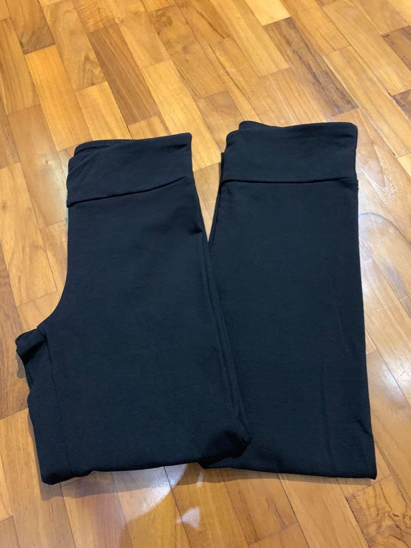 Cotton On 3 4 High Waisted Dylan Leggings Black In Xs Women S Fashion Clothes Pants Jeans Shorts On Carousell