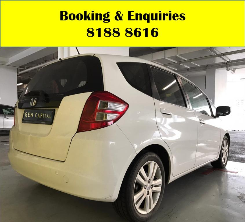 Honda Jazz -Join us today to be entitled for upcoming schemes to help PHV drivers/Self-employed in coping with the Covid-19 situation. Travel with a peace of mind with just $350 deposit driveaway. Whatsapp 8188 8616 now to enjoy special rates!!