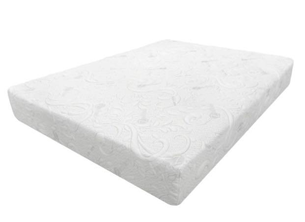 "LUXURY 9.5"" KING MEMORY FOAM MATTRESS (RETAILS FOR $1500)"