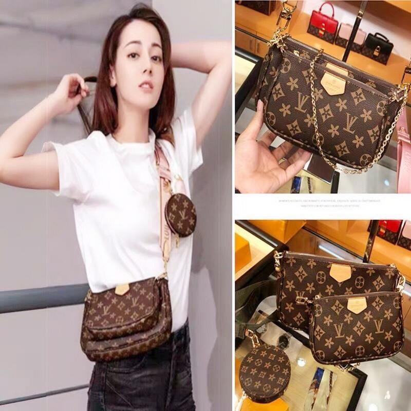 LV Sling Bag Complete set with paper bag advance gift from seller wasap 0182297664 fast respon