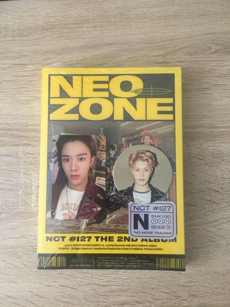 [NEW READYSTOCK] NCT127 NEO ZONE YUTA TAEIL N VERSION