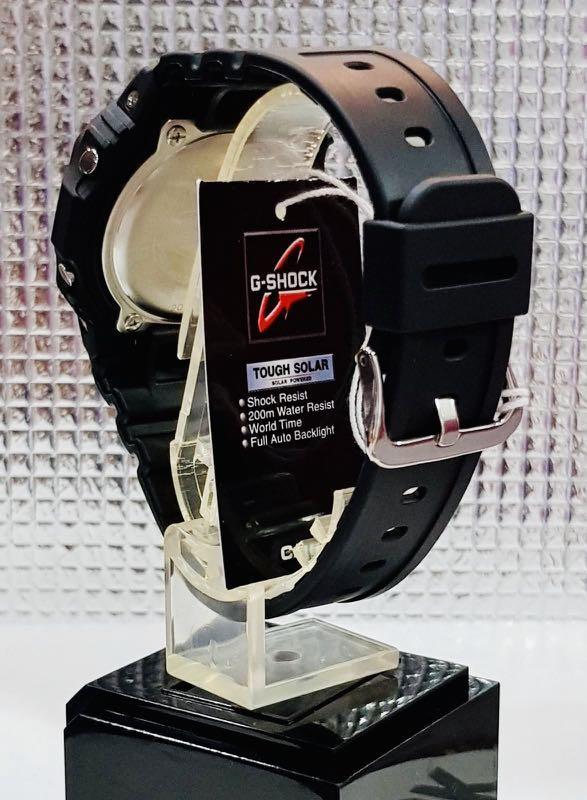 NEW🌟TOUGH SOLAR : MINI GSHOCK UNISEX DIVER SPORTS WATCH : 100% ORIGINAL AUTHENTIC CASIO G-SHOCK : G-5600E-1 / DW-5600-1 / G-5600-1 / G5600E-1