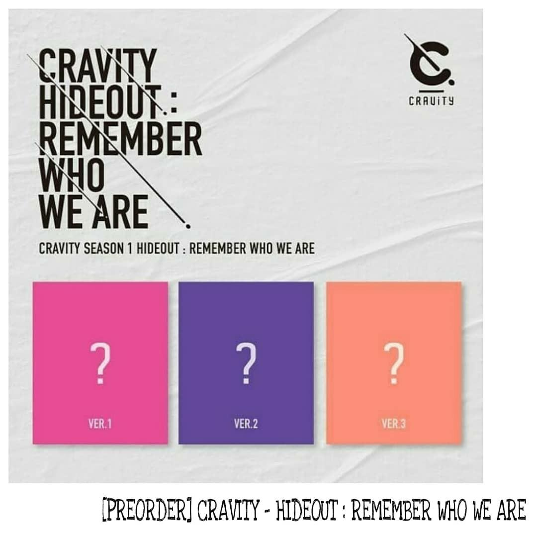 [PREORDER] CRAVITY - HIDEOUT : REMEMBER WHO WE ARE