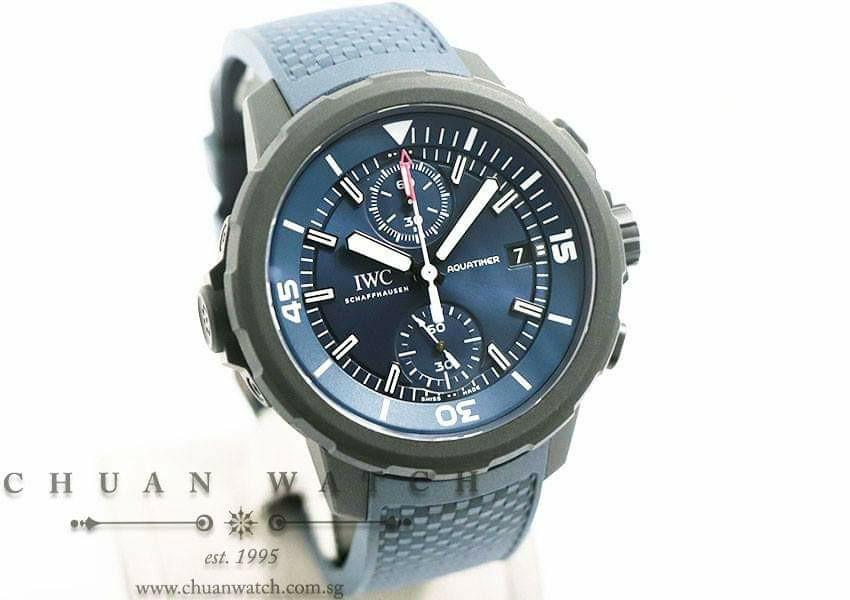 *ON HOLD Pre-Owned IWC Aquatimer Chronograph 'Laureus Sport for Good' Edition 45mm IW379507 (Limited Edition of 1000 Pieces Only)