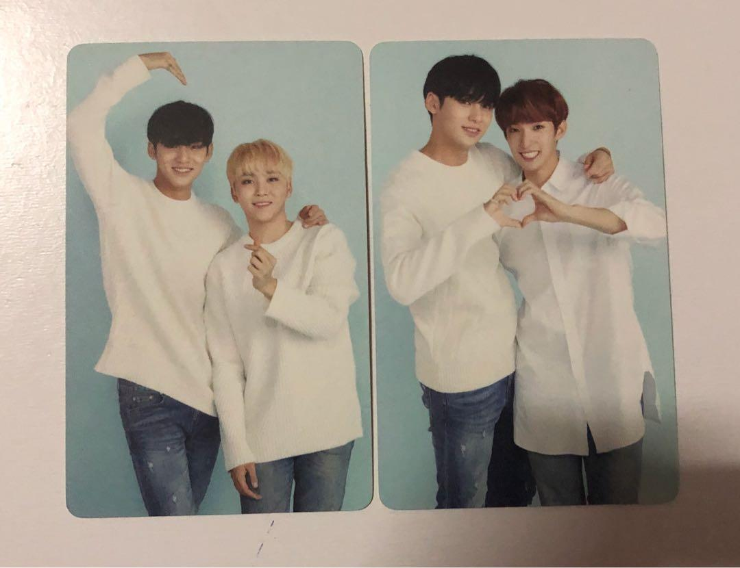 Stock Clearance : SVT in Caratland 2018 Photocards