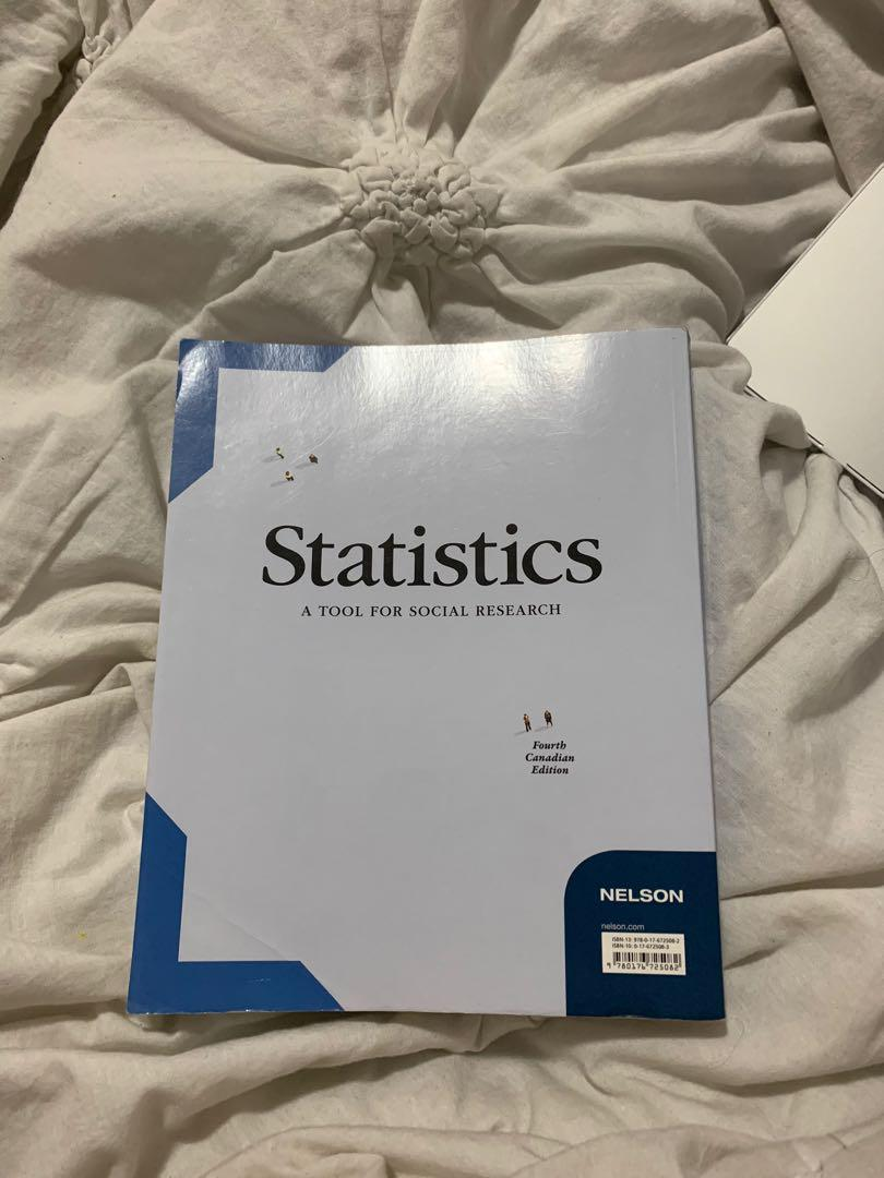 Statistics - A tool for social research fourth edition