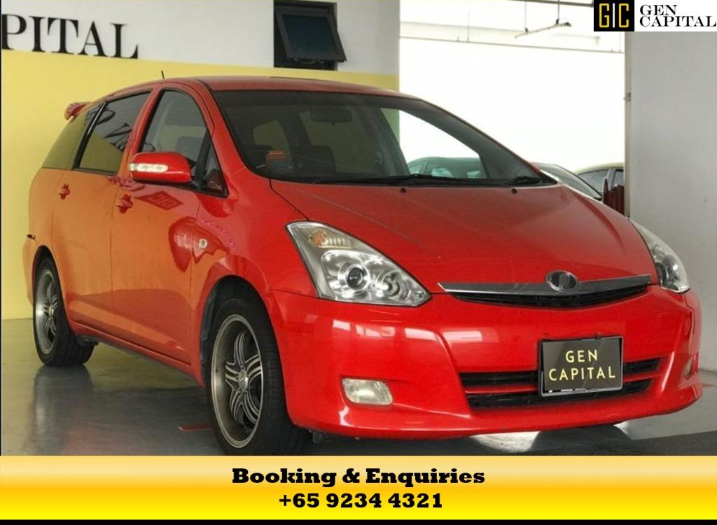 Toyota Wish - Don't miss out on the resilience scheme for PHV/Self employed, join us now! $350 deposit to driveaway*