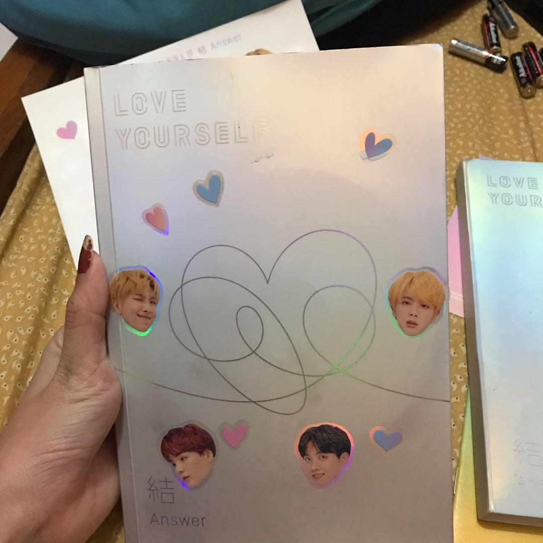 (UNSEALED) BTS LOVE YOURSELF ANSWER L VER JHOPE PC