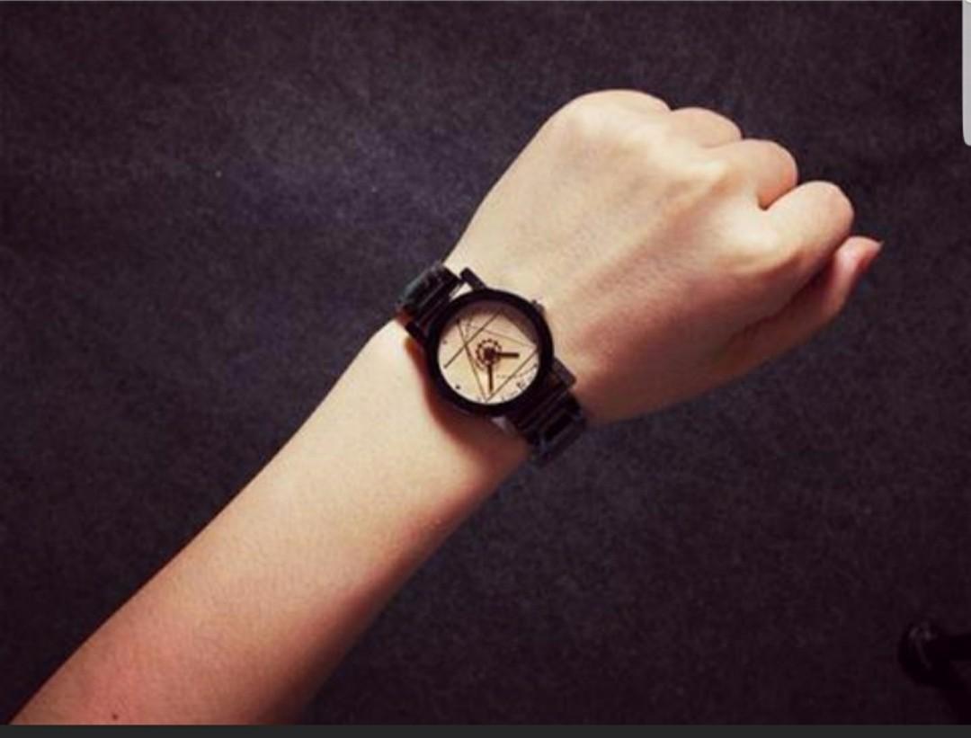 Women white watch