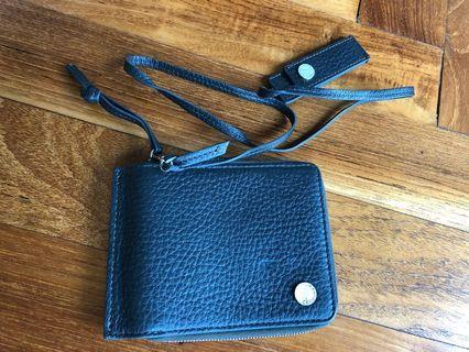 unique Calvin Klein wallet with string