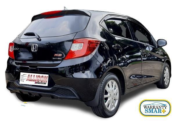 All New Honda Brio Satya E 1.2 CVT 2019 Hitam Km 5 Rb