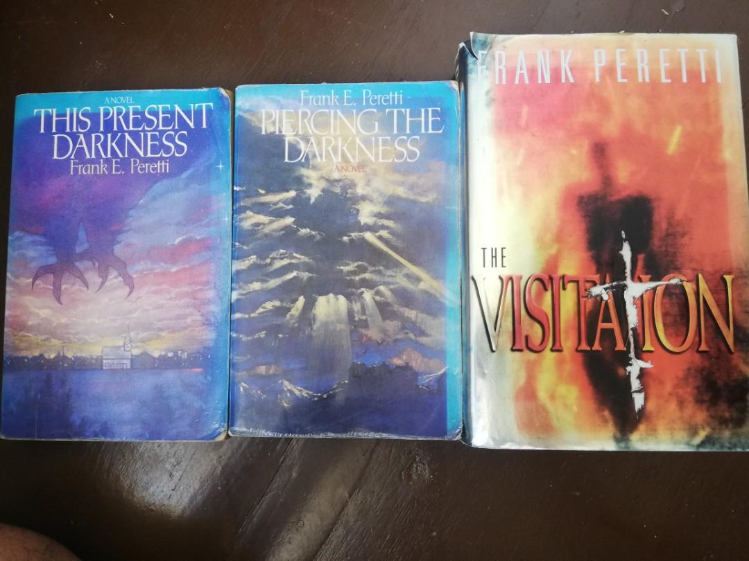 Frank Perretti Books Bundle (Piercing The Darkness, This Present Darkness, The Visitation)