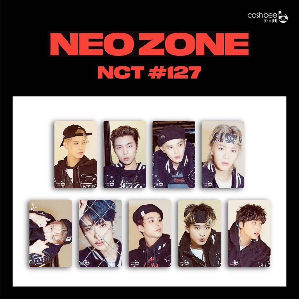 [FULL PAYMENT] NCT 127 NEO ZONE TRANSPORTATION CARD