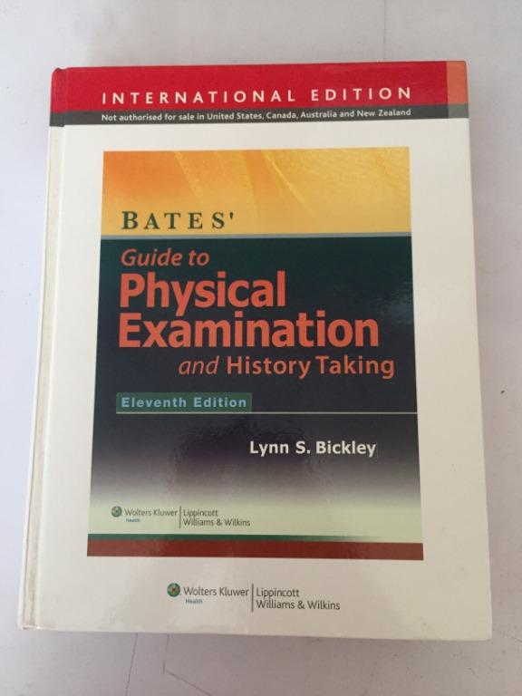 Guide to Physical Examination and HIstory taking (11th edition) - Lynn S. Bickley