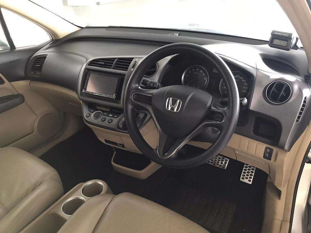 Honda Stream for Rent! Perfect time to safe guard you and your beloved ones! Rent with us now +65 9234 4321!