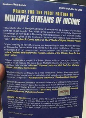 Multiple Streams of Income: How to Generate a Lifetime of Unlimited Wealth! - by Robert G. Allen  (Author)