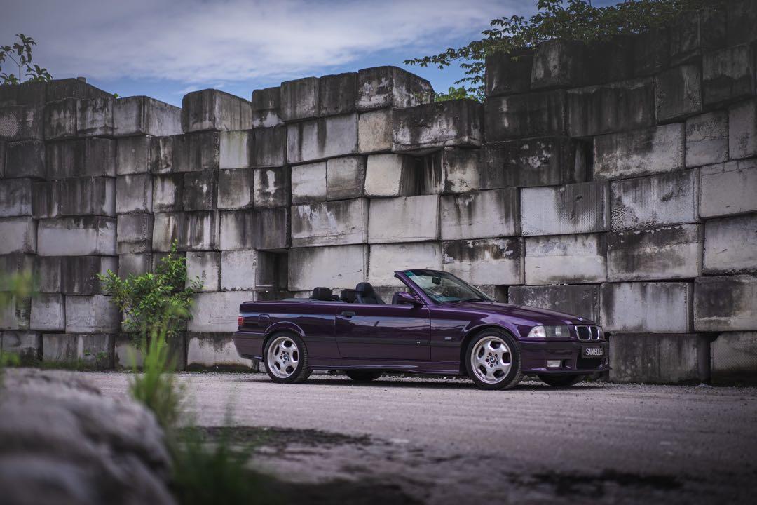 Rare & Vintage 1995 BMW M3 E36 Cabriolet Daytona Violet